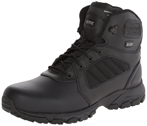 Magnum Mens - Magnum Men's Response III 6.0 Slip Resistant Work Boot,Black,10.5 M US