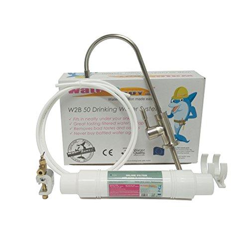Water2Buy Undersink Drinking Water Filter System - Swan Neck Sink Water...