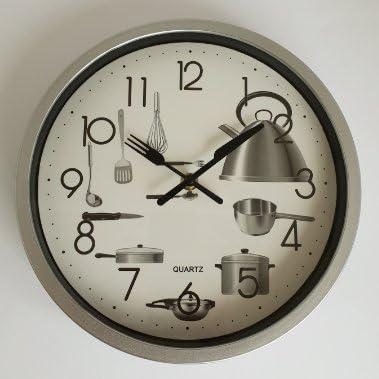 Deltabrinca Quartz Reloj de Pared 25cm. - Cocina