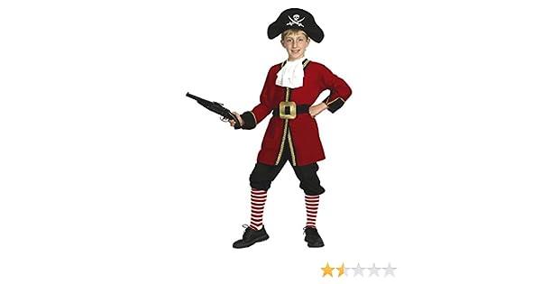 EL CARNAVAL Disfraz Capitán Garfio Pirata Talla de 8 a 10 años ...