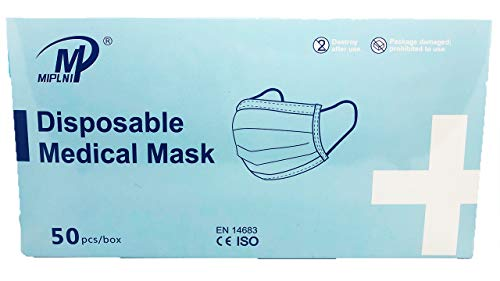 MIPLNI Disposable Non-sterile Medical Face Mask 3-ply Type II Face Mask