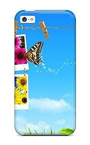 Cute Tpu AnnDavidson Spring Nature Case Cover For Iphone 5c