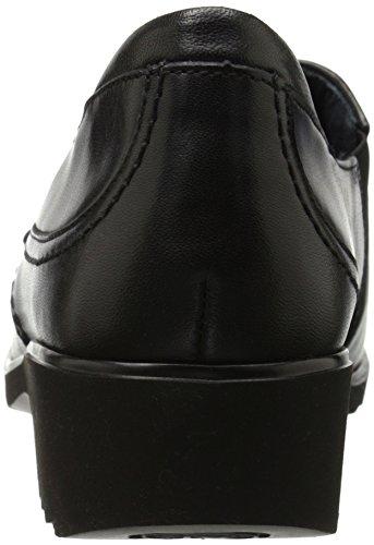 Ara Kvinna Andrea Slip-on Loafer Svart Läder