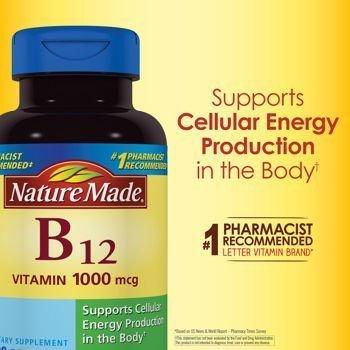 Nature Made Vitamin B-12 1000 mcg - 400 Softgels by Nature Made