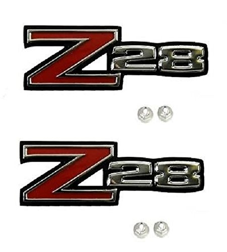 1970-1974 Camaro Z28 Fender Emblem Package (Both Sides) (Z28 Emblem)