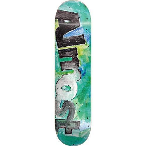 昼食改善魔術Almost Skateboardsカラーブリードティールスケートボードデッキ - 8 x 31.6 インチ