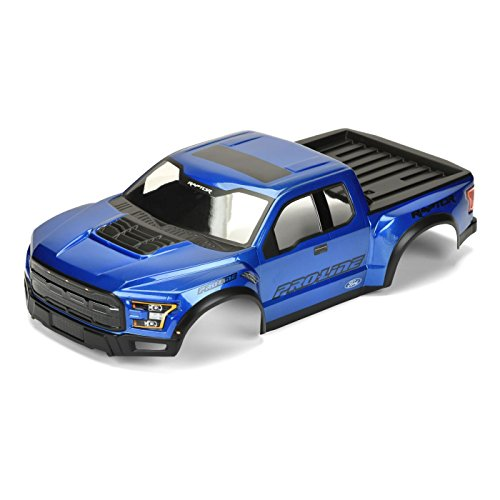 Painted Body Pre (1/10 2017 F-150 Raptor True Scale Body, Blue, (Mount Kit Required))