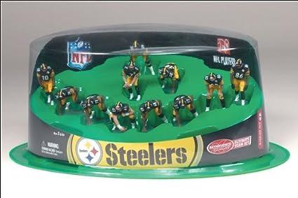 McFarlane Toys NFL Mini Sports Picks 11 Piece Offensive Team Pittsburgh Steelers
