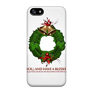 Defender Cases With Nice Appearance (god Bless You Christmas) For Iphone 5/5s