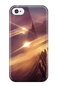 [qGaIwxq9717fMRhO]premium Phone Case For Iphone 4/4s/ Pyramidss Tpu Case Cover