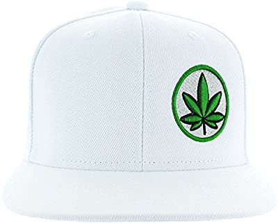 Pot Leaf Hat Collection Premium Puff 3D Embroidery - Snapback Hat Variations - USA. by jdhg jgdg