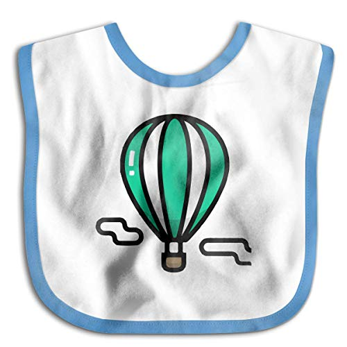 Baby Hot Air Balloon Vector Saliva Towel Bibs Burp Cloths