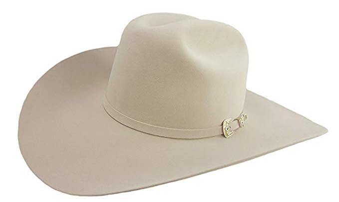 fb547846c42a1 Stetson 200X La Corona Cowboy Hat Silverbelly at Amazon Men's ...
