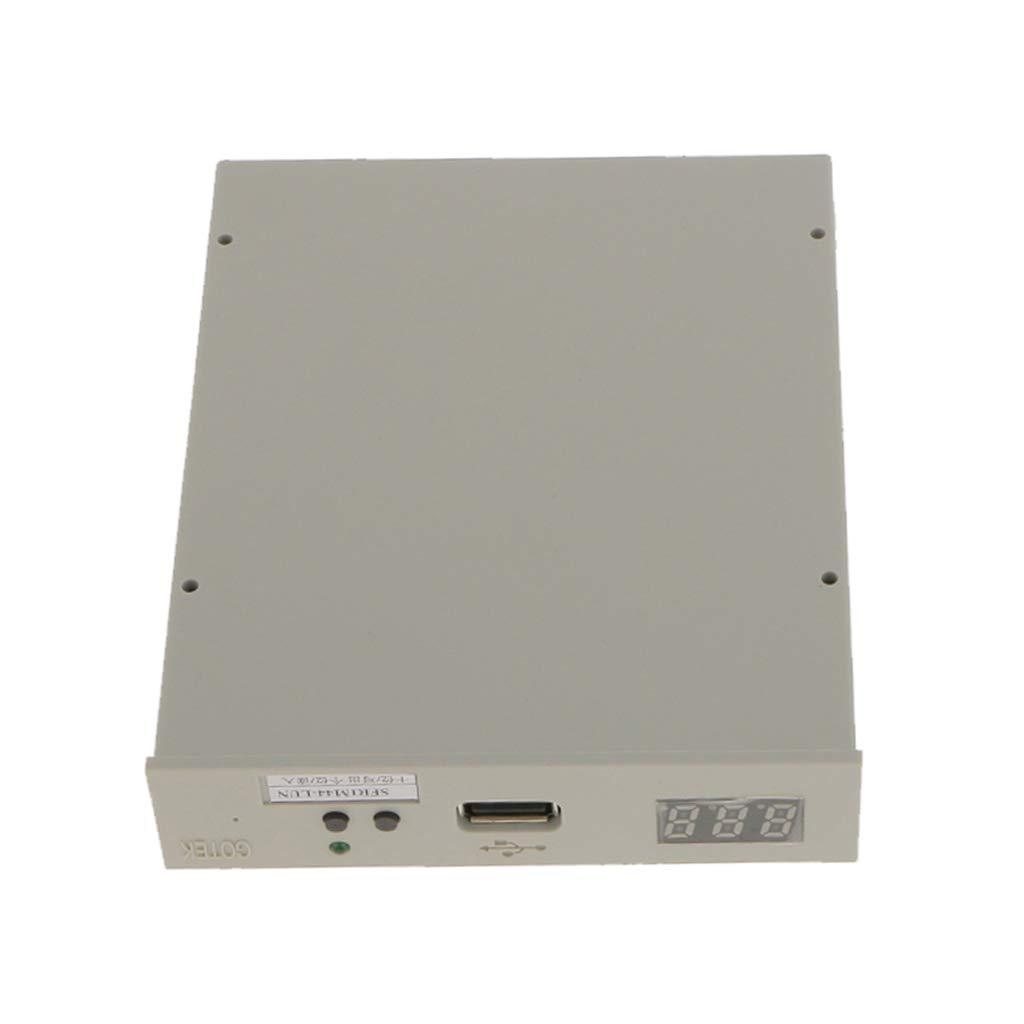 B Blesiya Unidad de Disquete USB con Tornillos Plug, Juegue SFR-1m Herramientas de Grabado