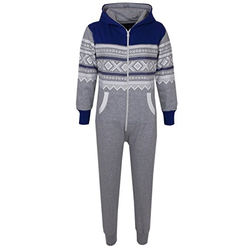 8 nieve y 7 6 11 12 gris 5 A2z a os In copo 10 One real Hoodie 9 estilo azteca azul de Kids 4 13 All Toddler U6wzZqS