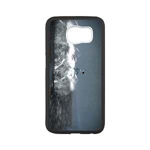 Samsung Galaxy S6 Cell Phone Case Black_Never Alone (Kisima Ingitchuna)_025 Bdcpw