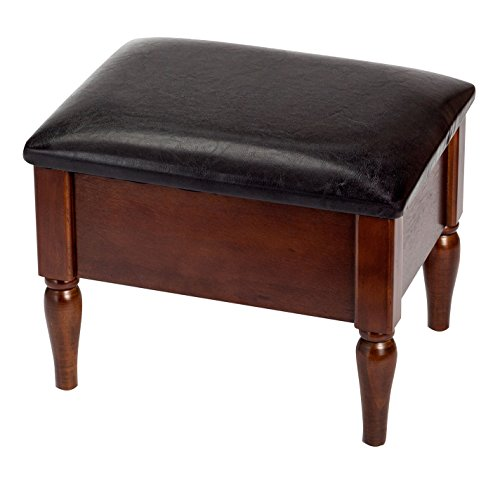 Faux Leather Wooden Storage OakRidgeTM