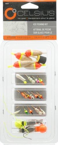 Celsius Ice Fishing Kit Ice Jig Kit