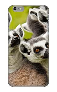 Premium SSOyyp-4536-Ptvlf Case With Scratch-resistant/ Animal Lemur Case Cover For Iphone 6