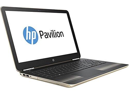 "Latest HP Pavilion 15.6"" HD Laptop - Intel Core i5-5200U up to 2.2GHz, 12GB RAM, 1TB HDD, DVD±RW, HD Webcam, B&O PLAYS, HDMI, Wireless, Bluetooth, Windows 10 Modern Gold"
