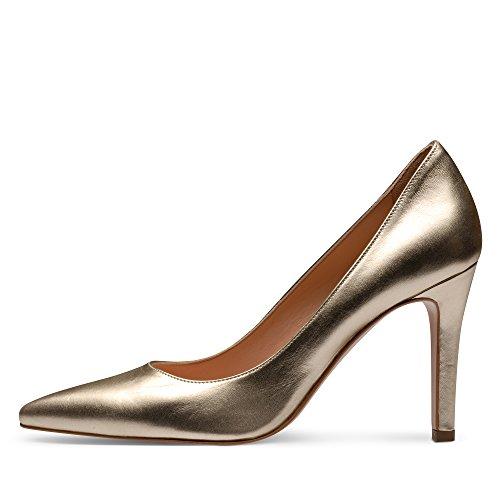 Evita Shoes - Zapatos de vestir de Piel para mujer Dorado - dorado