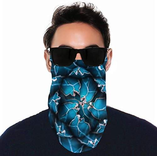 フェイスカバー Uvカット ネックガード 冷感 夏用 日焼け防止 飛沫防止 耳かけタイプ レディース メンズ Agave Cactus