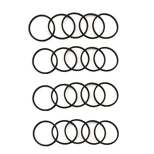 (DVD Drive Tray Motor Rubber Belt Ring for Xbox 360 and DVD Drives Stuck Open Repair (Pack of 20) by Katofa)