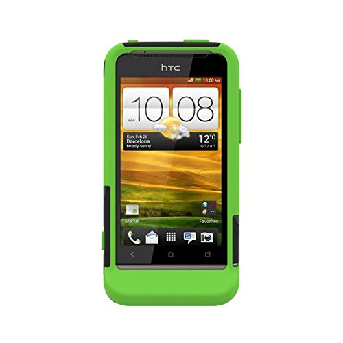 Trident Case AEGIS Protective for HTC ONE V - Retail Packaging - Trident Green