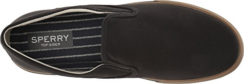 Twin II 13 M Gum Striper US Gore Men's Canvas Black Sperry qtE1fTz