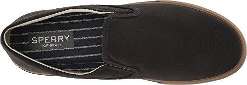 Men's Sperry 5 Striper Gum Black Twin Canvas 8 Gore II M US d11qrwH