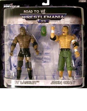 - BOBBY LASHLEY & JOHN CENA EXCLUSIVE WWE JAKKS WRESTLING FIGURE