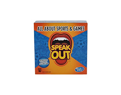 Hasbro Gaming Speak Out Expansion Pack: All About Sports and