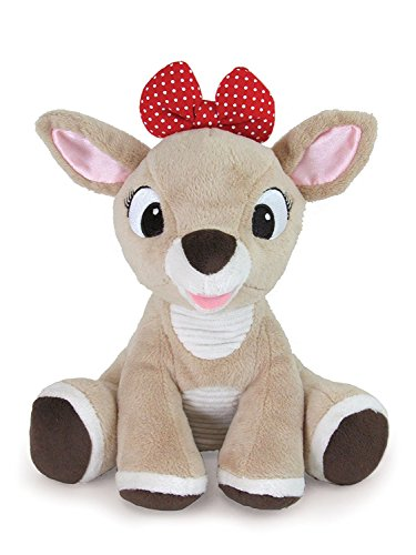 Kids Preferred Rudolph the Red-Nosed Reindeer, Clarice Stuffed Animal, -