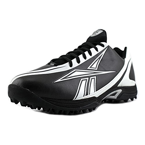 FOOTBALL MOLDED BURNER QUAG MENS REEBOK 14 BLACK M LOW CLEATS SPEED PRO WHITE 8nznXUwTx