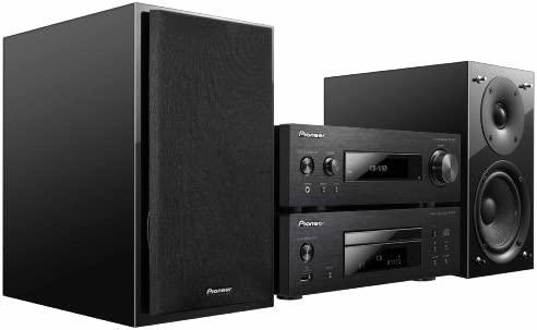 Pioneer P1-K - Microcadena HiFi de 150 W con CD, negro