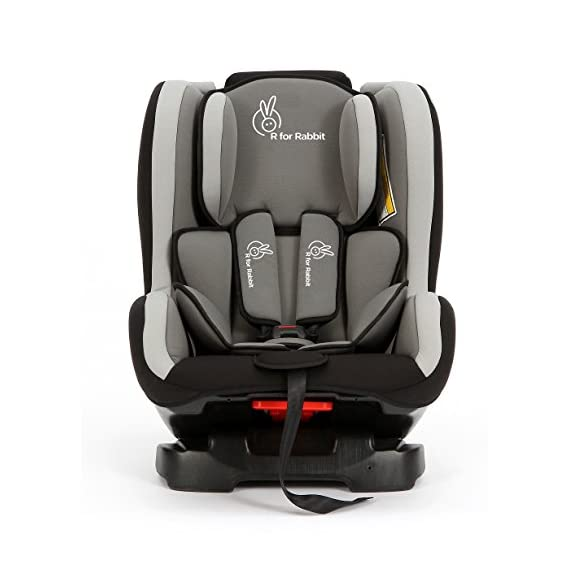 R for Rabbit Convertible Baby Car Seat Jack N Jill ECE R44/04 Safety Certified Car Seat for Kids of 0 to 5 Years Age