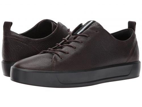 ECCO(エコー) メンズ 男性用 シューズ 靴 スニーカー 運動靴 Soft 8 Tie - Coffee [並行輸入品] B07BDP7YPJ