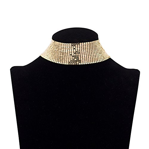 Womens Jewelry Sequins Bikini Choker