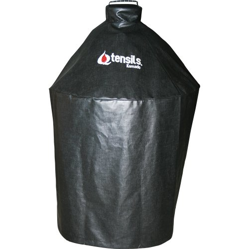 Qtensils Premium Grill Cover for Kamado Round Kettle Styl...