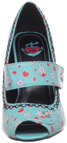 TUK Anchors Aweigh - Zapatos de vestir para mujer Azul