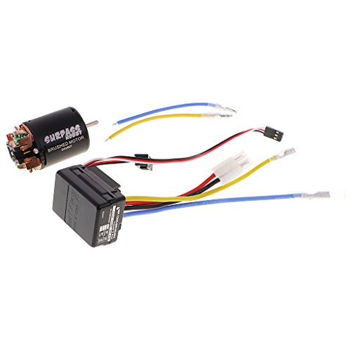 Crawler Motor Combo - Dovewill 540 80T Brushed Motor with 40A ESC Combo for 1/10 Axial SCX10 RC Crawler Car