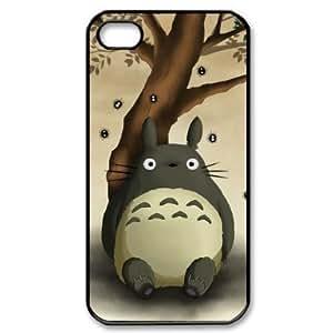 Saot Tal Custom Your Own Cartoon Totoro iPhone 4/4S Case , personalised Cartoon Totoro Iphone 4 Cover
