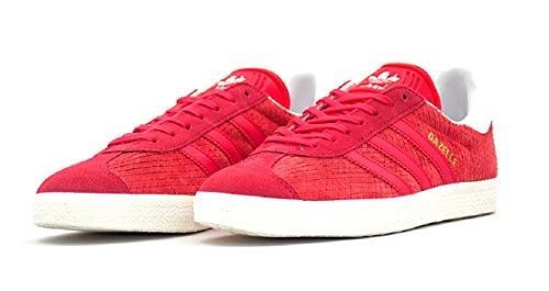 Scarpe Adidas Donna Gazzella Originale W - Bb5174 - (sz: 5) - Rosso / Grigio / Rosa Nucleo / Bianco Sporco