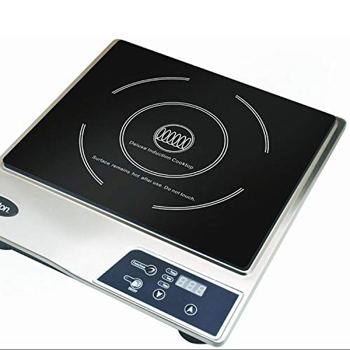 Max Burton Portable Stainless Steel Deluxe Countertop Induction Cooktop Burner (2 Pack) by Sunbeam (Image #6)