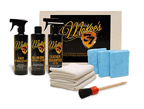 McKee's 37 MK37-CGLCK Car Guy Leather Care Kit (10-Piece)