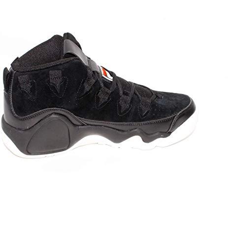 Para Zapatillas Sintético Fila Negro De Hombre 6zPSxOHq