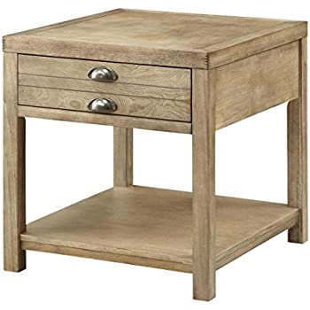 amazon com coaster occasional group casual light oak cottage end