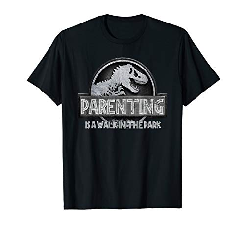 (Parenting Is A Walk In The Park Funny T-Shirt)