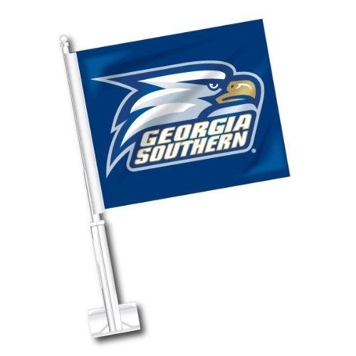 NCAA Georgia Southern Eagles Car Flag Set of 2 (Georgia Southern Car Flag)