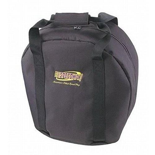 Black Nylon Helmet Bag